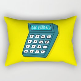 Mr Buttons Rectangular Pillow