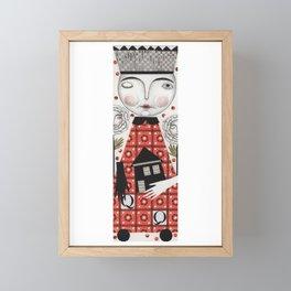 The White Queen Framed Mini Art Print