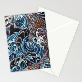 Koi by Sebastian Orth Stationery Cards
