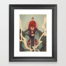 3 Sides Framed Art Print