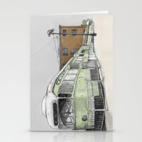 hook Stationery Cards featuring Red Hook by Lane Scarano