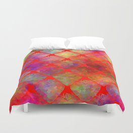 Strawberry Hearts Duvet Cover