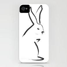 Zen Snow Bunny iPhone (4, 4s) Slim Case