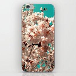 cherry blossom III iPhone Skin