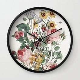Romantic Garden Wall Clock