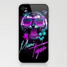 Miami Tiger iPhone & iPod Skin