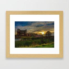 Kenilworth Castle Framed Art Print