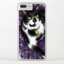 Handsome Boy Clear iPhone Case