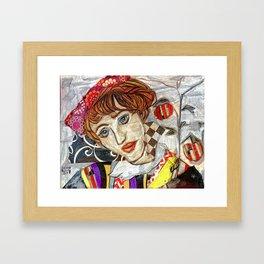 Egon's Girl Framed Art Print
