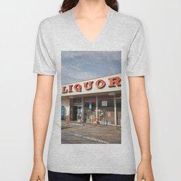 Liquor Store Santa Monica Unisex V-Neck