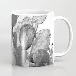 monochrome cactus 4 Coffee Mug