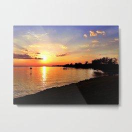 Potomac Sunset Metal Print