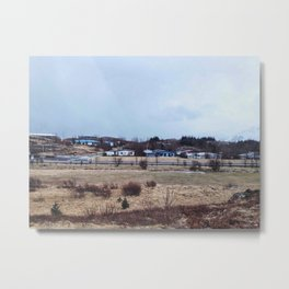 Somewhere in Iceland Metal Print