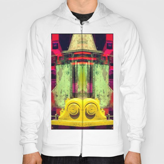 Industrial Abstract Twins Hoody