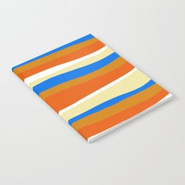 80's stripes Notebook
