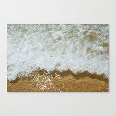 Sparkling ocean Canvas Print
