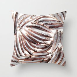 Sardines Throw Pillow