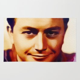 Robert Young, Vintage Actor Rug