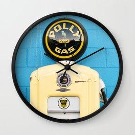 pump it Wall Clock