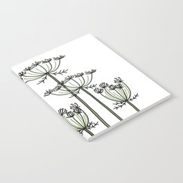 wild carrots Notebook