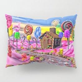 Pink Candyland Pillow Sham