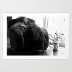 When I'm thinking about you... Art Print