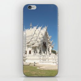 The Majestic White Temple iPhone Skin
