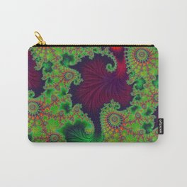 Psychadelic Centerpiece - Fractal Art Carry-All Pouch