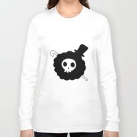 one piece Long Sleeve T-shirts featuring One Piece Brook yohohoho by Limon93