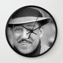 Langston Hughes - Black Culture - Black History Wall Clock