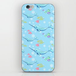 Narwhal and Friends iPhone Skin