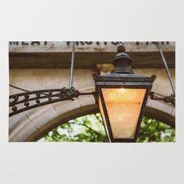 Market Lamppost Rug