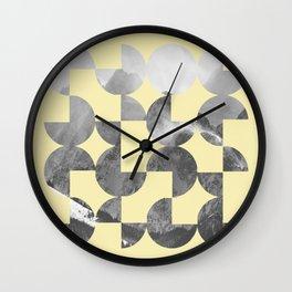 Quarter Quills 3 Wall Clock