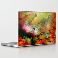 chinese Laptop & iPad Skins featuring Chinese landscape by Joe Ganech