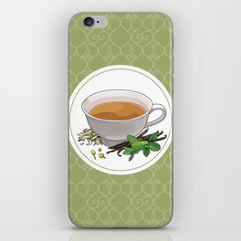 Green Tea Lover iPhone Skin