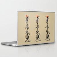 ski Laptop & iPad Skins featuring I Ski by Joe Pansa