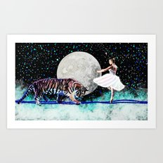 Join me in the stars  Art Print
