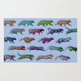 Time Lapse Motion Study Cat Green Background Cats Kitty Kitten Cat gift Rug