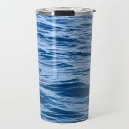 Greek Waves Travel Mug