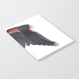Redwinged Blackbird Notebook
