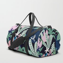 Into the jungle - midnight Duffle Bag