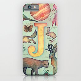 'J' collection iPhone Case