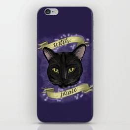 Witch Please iPhone Skin