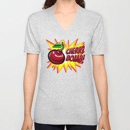 Cherry Bomb! Unisex V-Neck