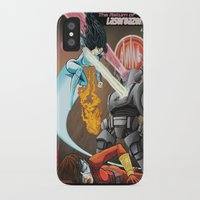 superheros iPhone & iPod Cases featuring SuperHeros SF by Timo Hanley