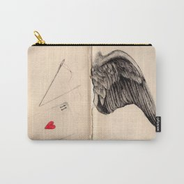 Red Thread Carry-All Pouch