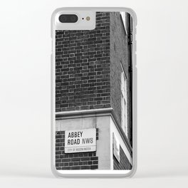 Abbey Road (Brick) Clear iPhone Case