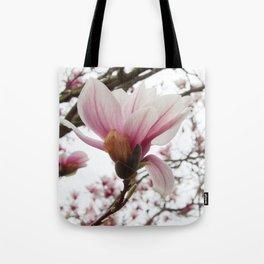 magnolia ice Tote Bag