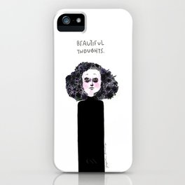 Beautiful Thoughts iPhone Case