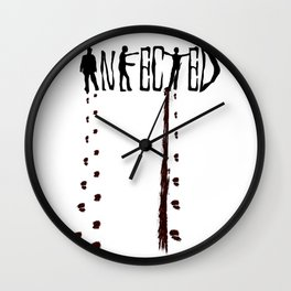 Infected Zombie Wall Clock